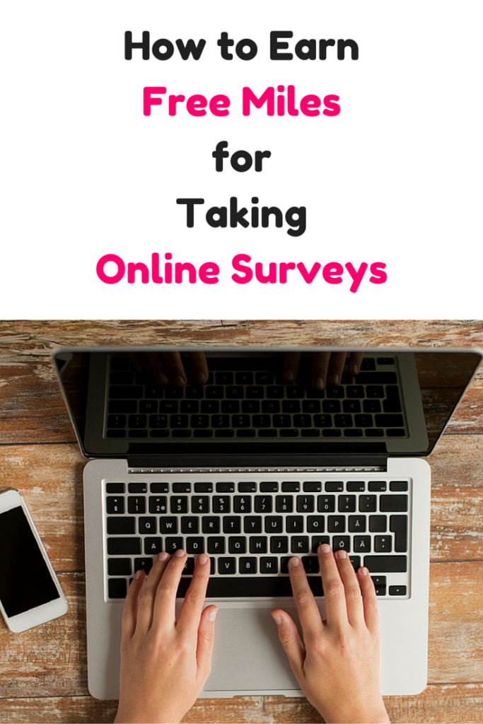 How to Earn Free Miles for Taking Online Surveys
