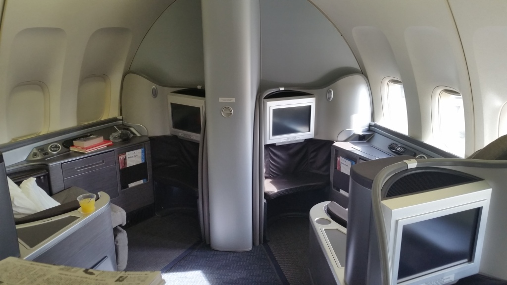 united airlines 747 first class united airlines first class reviews