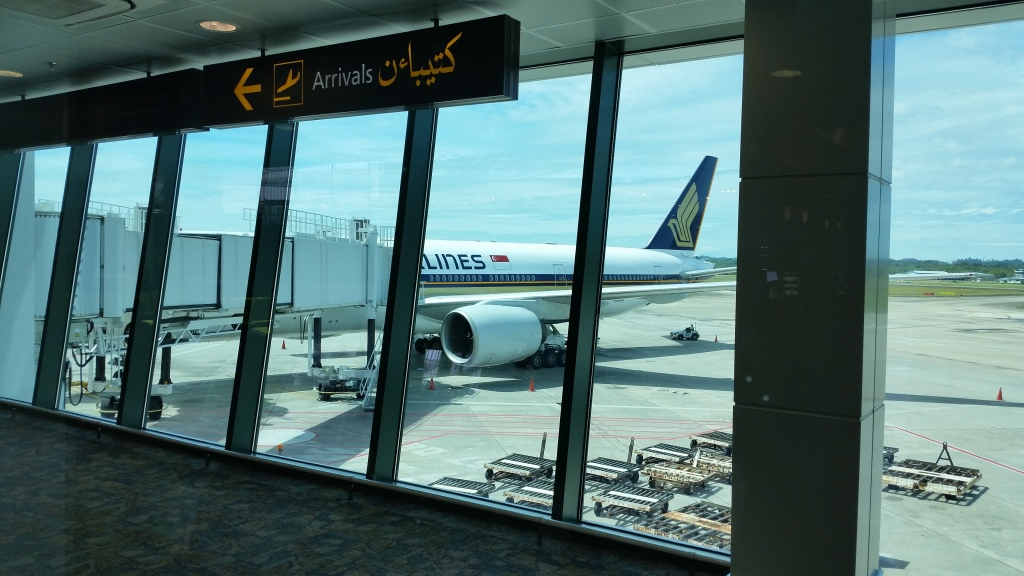 Singapore airline business class review 777-200