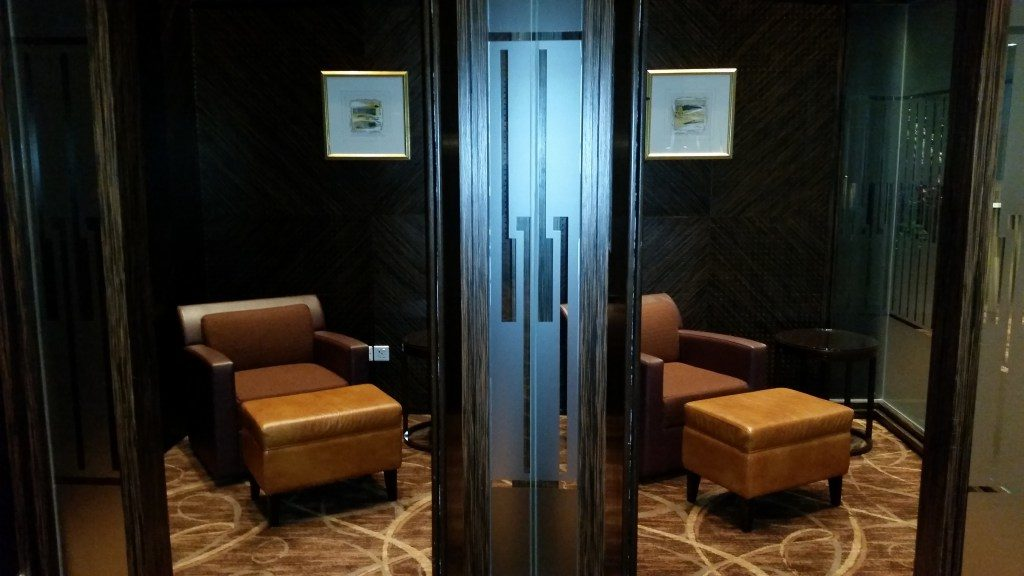 singapore airlines the private room review