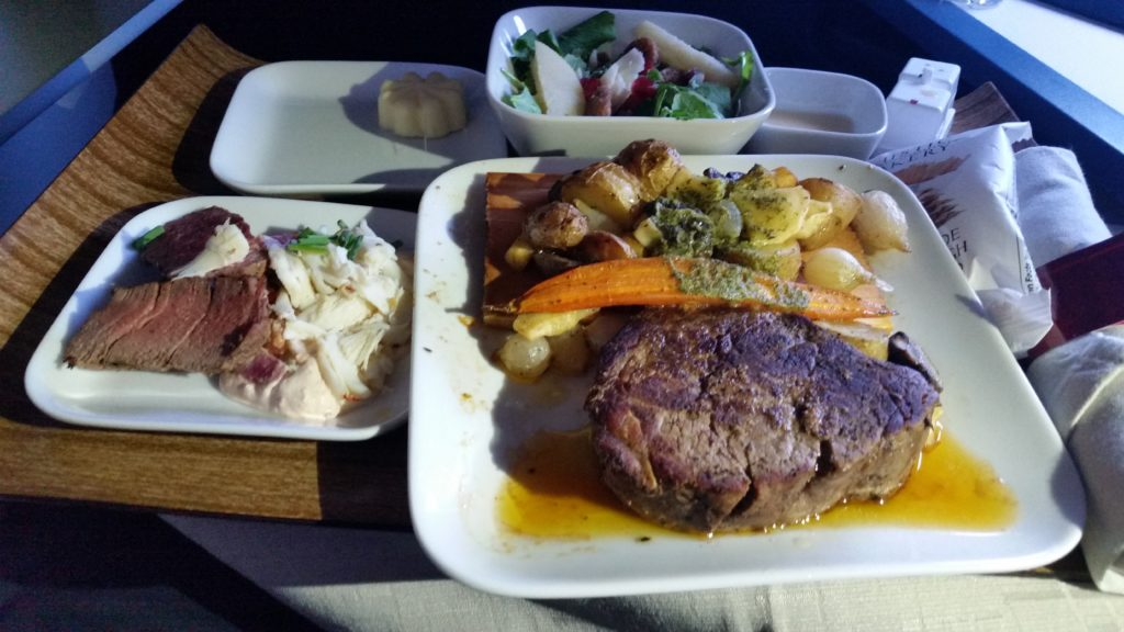 delta domestic first class review
